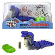 1TOY RoboLife Игрушка Робо-Змейка на ИК (Синяя)