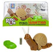1TOY RoboLife игрушка Робо-Улитка (песочная)