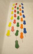 Координационная дорожка для детей из фанеры ЗМЕЙКА-ШАГАЙКА «Следы»