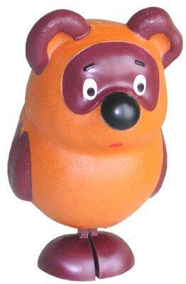 Игрушка шагающий (гуляющий) медведь Винни Пух Наш гуляющий медвежонок порадует как взрослого так и ребёнка! Самодвижующаяся игрушка без батареек! Рекомендованный возраст: 3+