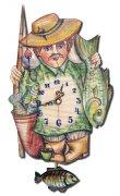Настенные часы-ходики РЫБАК (авторский дизайн)
