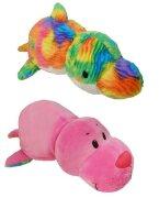 Игрушка вывернушка 2в1 Морской котик-Радужный Дельфин, 40 см