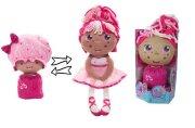 Девчушка-вывернушка Катюшка 2-в-1 кукла плюшевая, 23-38 см