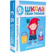 Полный годовой курс занятий с детьми 2-3 лет (12 книг в подарочной упаковке)