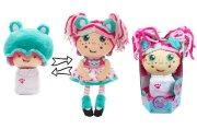 Девчушка-вывернушка Надюшка 2-в-1 кукла плюшевая, 23-38 см