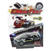 1TOY CrashFest Black Star машинка 2в1 инерционная, 10 см