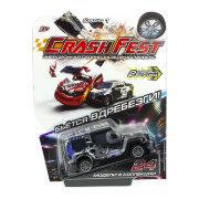 1TOY CrashFest Rhino машинка 2в1 инерционная, 10 см