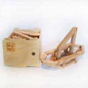 Деревянный магнитный конструктор НАБОР 100
