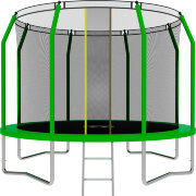 Батут SWOLLEN Comfort 10 FT (Green)