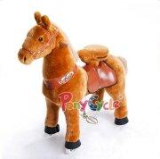 Поницикл СВЕТЛО-КОРИЧНЕВАЯ лошадь средняя