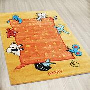 Детский дизайнерский ковер ЗВЕРЯТА, 2 размера