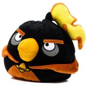 подушка-антистресс Angry Birds Космическая Черная птица, 25 см