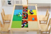 Стол для  LEGO с отсеками для хранения