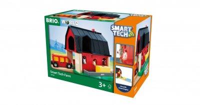 33936 BRIO Smart Tech ФЕРМА для игры с паровозиком Необходимо уточнить наличие этого товара