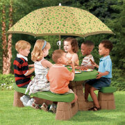 """STEP-2 Игровой столик с зонтом """"Пикник"""""""