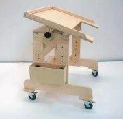 Стол для детей с ОВЗ на колесиках c регулируемой высотой