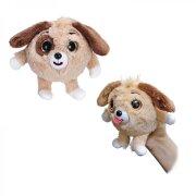 Дразнюка ZOO плюшевая собачка, 13 см (2 цвета)