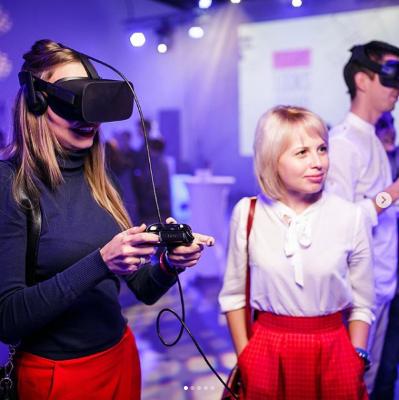 Аттракцион VR Виртуальная Реальность Арендовать PlayStation 4 + VR очки Виртуальная реальность + 5 игр (на выбор) «под ключ» легко в нашем интернет-магазине