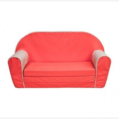 Безопасный детский диван (бескаркасный) Отличное дополнение игровой зоны для ребёнка. Диван раскладной мягкий и легкий, ребёнок сможет его перемещать в своей комнате самостоятельно. Рекомендованный возраст: 1+