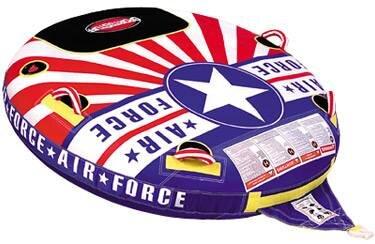 Буксируемый баллон Air Force Скорость и маневренность этого баллона сделают Вас ассом! Удобные положения езды делают этот баллон элитным. Диаметр баллона 152,4 см