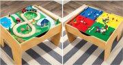 LEGO стол + двустороняя крышка (50*50) + дорога