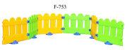 F-753 Разноцветный детский игровой заборчик FAMILY