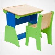 Комплект Парта и стул регулируемые по высоте и наклону