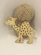 Шнуровка тактильная Верблюжонок