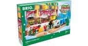 33848 BRIO Рождественский Календарь 2021, 24 элем.