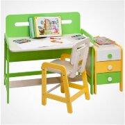 Комплект: письменный стол и тумбочка (серия Точка-Тире)