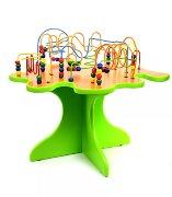 """Дидактический стол с лабиринтом """"Бусинки"""""""
