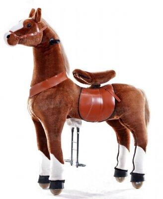 Большой профессиональный поницикл ЧЕРНОБУРКА Большой профессиональный поницикл - это игрушка-аттракцион, в большей степени подходит для проката (арендный бизнес) или повседневного использования. На БЕЛОКОПЫТНОЙ лошадке можно кататься верхом без дополнительных источников питания, аккумуляторов и подзарядок! Рекомендованный возраст: 6+ (до 90 кг)