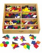 Развивающий набор Монтессори (включает 13 видов образовательных материалов)