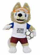 Плюшевый талисман FIFA-2018 Волк Zabivaka ЗАБИВАКА, 18 см